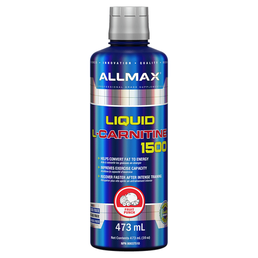 Allmax Liquid L-Carnitine Carnitine 473ml / Fruit Punch at Supplement Superstore Canada