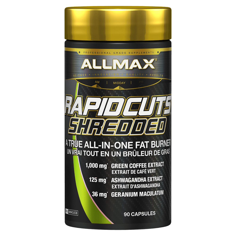 Allmax RapidCuts Shredded Fat Burner 90 Capsules at Supplement Superstore Canada