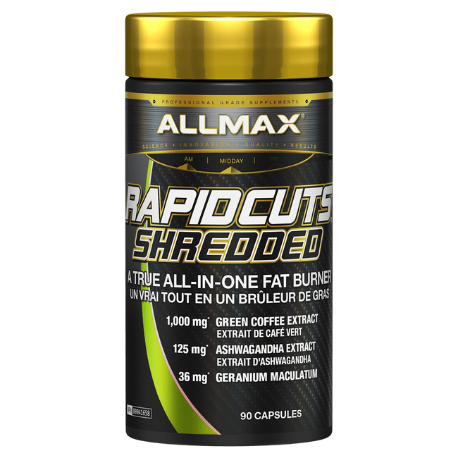 RapidCuts Shredded by Allmax Weight Loss Fat Burner at Supplement Superstore Canada