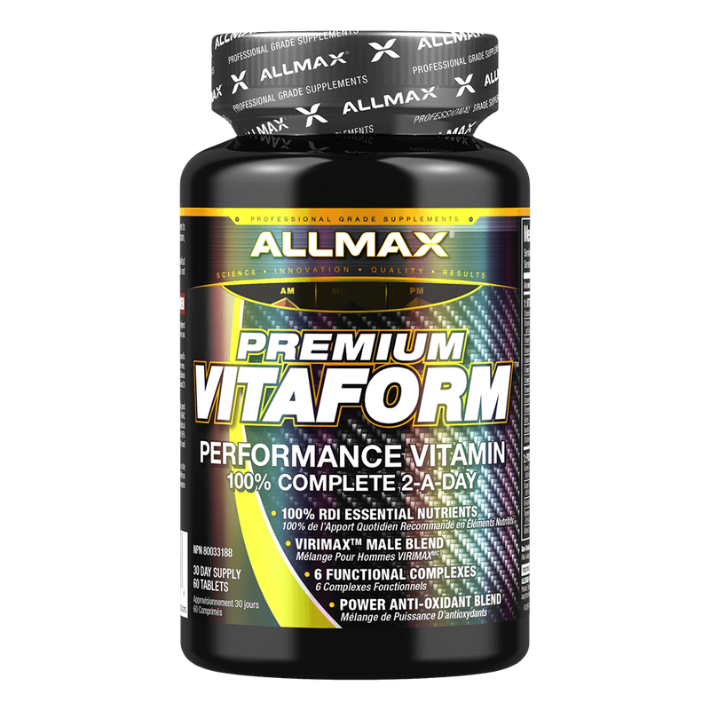 Allmax VitaForm Multi-Vitamin 60 Tablets at Supplement Superstore Canada