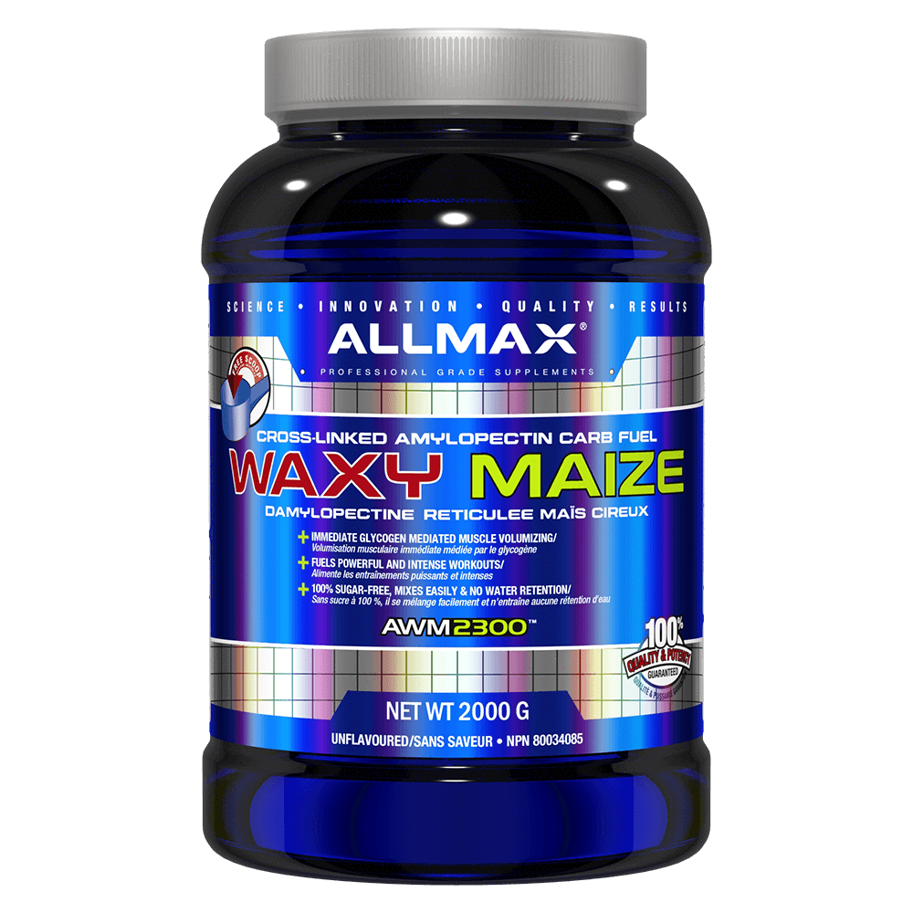 Allmax Waxy Maize Carbohydrate 4.4lb / Unflavoured at Supplement Superstore Canada