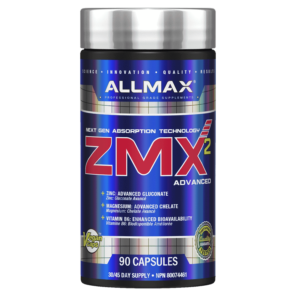 Allmax ZMA Night Time Hormone Support 90 Capsules at Supplement Superstore Canada