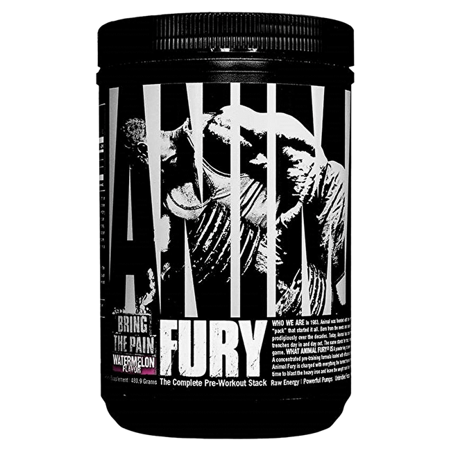Animal Fury Pre-Workout 30 Servings / Watermelon at Supplement Superstore Canada