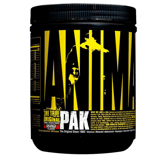 Animal Pak Powder Multivitamins 44 Scoops / Orange at Supplement Superstore Canada