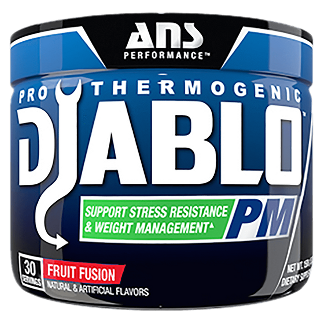 Fruit Fusion Diablo PM by ANS Performance Night Time Fat Burner Support at Supplement Superstore Canada