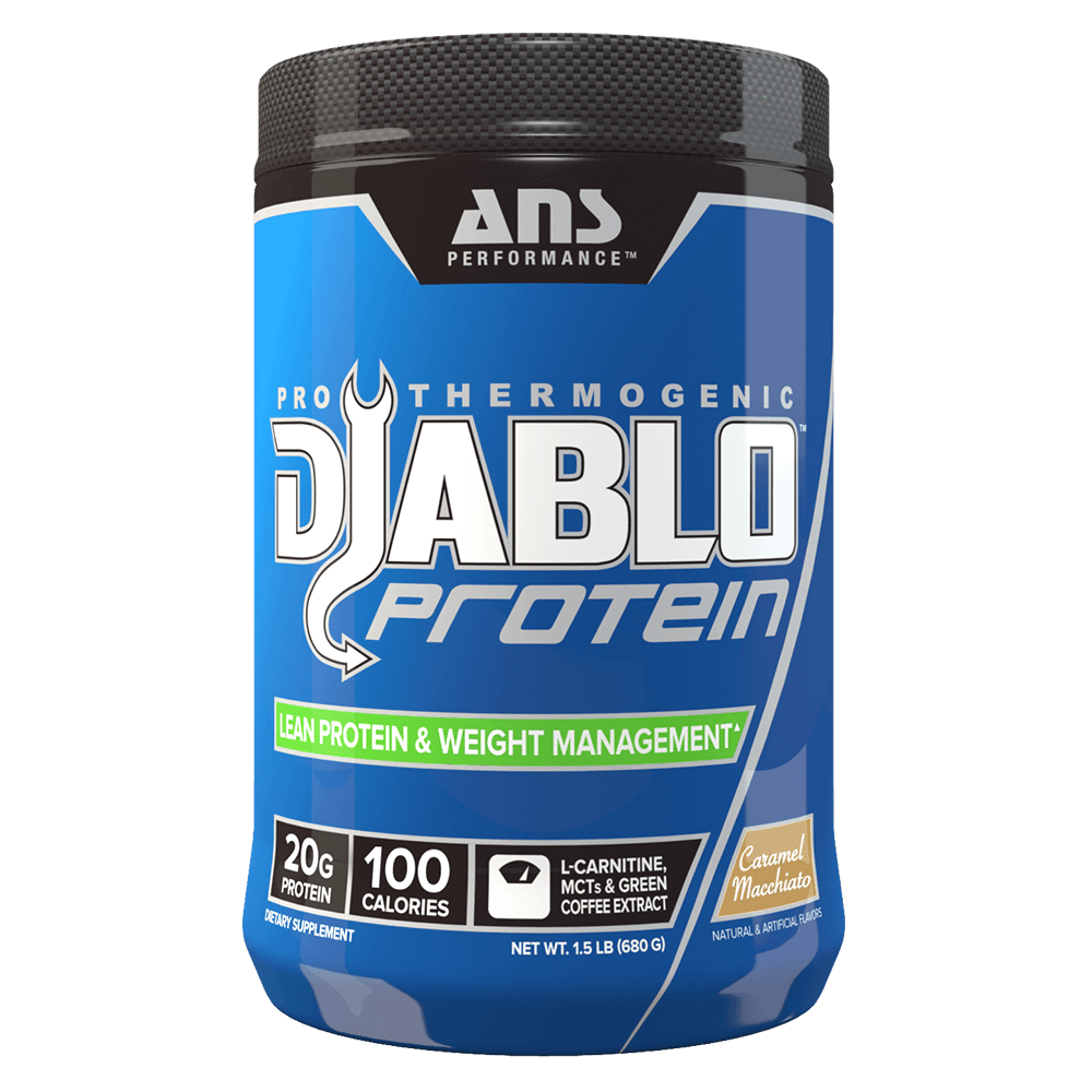Caramel Macchiato Diablo Protein by ANS Performance Fat Burner Support Protein at Supplement Superstore Canada