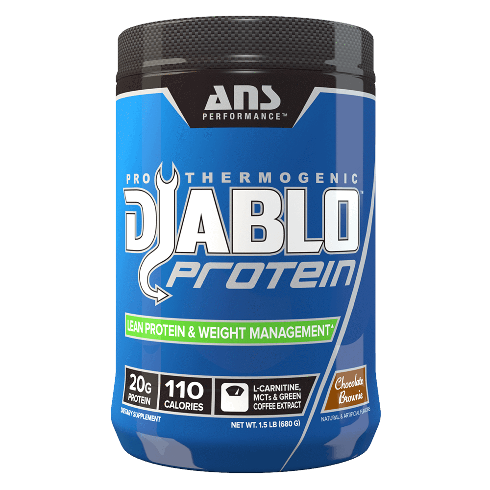 Chocolate Brownie Diablo Protein by ANS Performance Fat Burner Support Protein at Supplement Superstore Canada