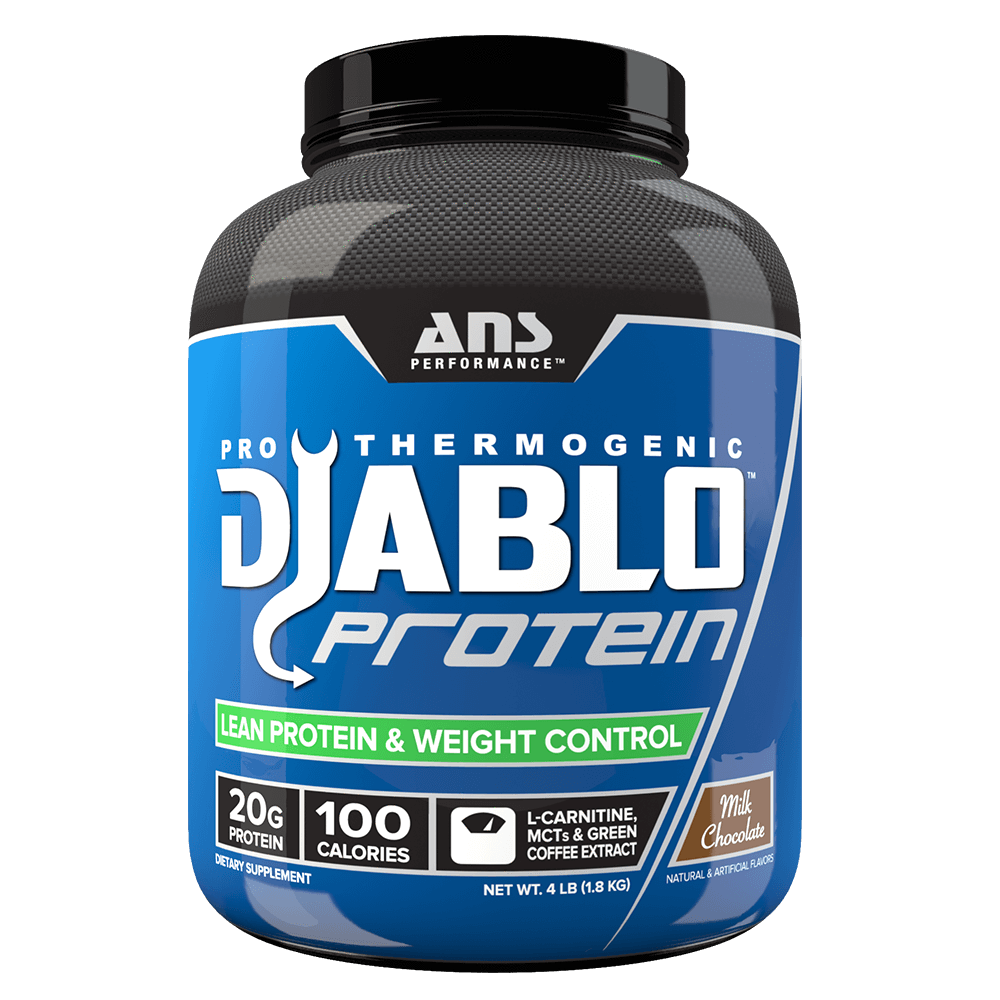 Milk Chocolate Diablo Protein by ANS Performance Fat Burner Support Protein at Supplement Superstore Canada