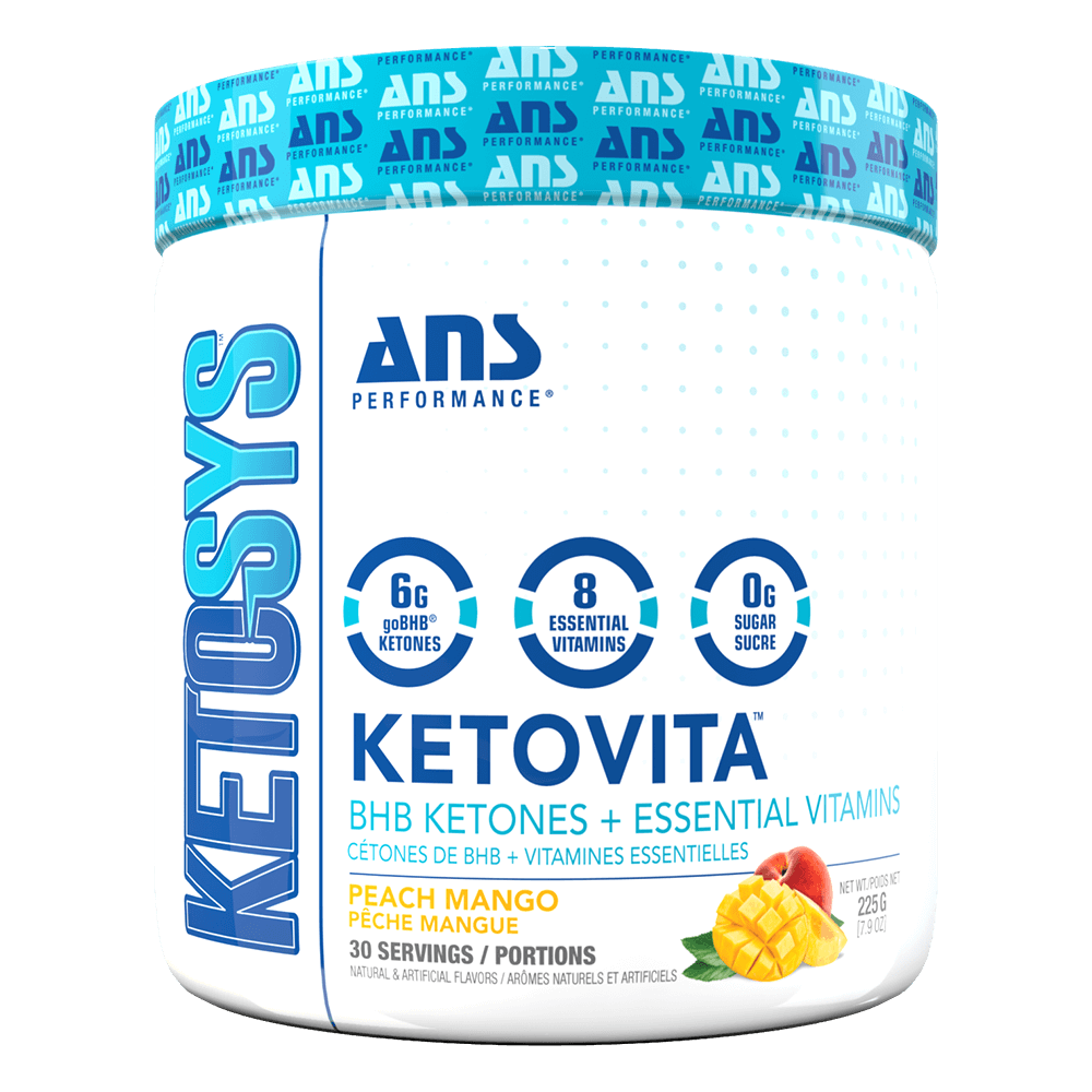 ANS Performance KetoVita Multi-Vitamin 30 Servings / Peach Mango at Supplement Superstore Canada