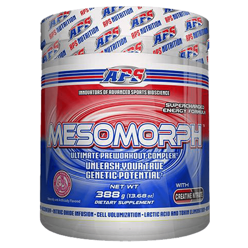 APS Nutrition Mesomorph Pre-Workout 25 Servings / Rocket Pop at Supplement Superstore Canada