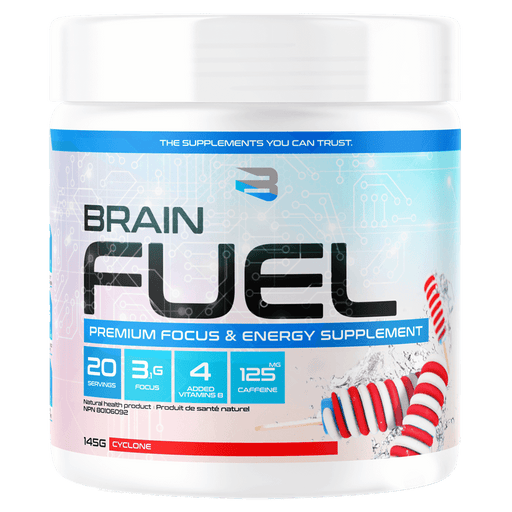 Believe Supplements Brain Fuel Health Supplements 20 Servings / Cyclone Pumpsicle at Supplement Superstore Canada 628634281017