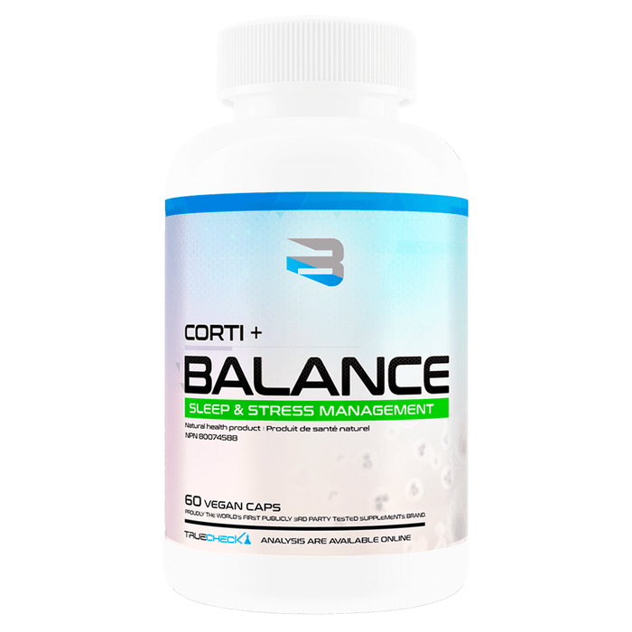 Believe Supplements Corti + Balance Test Booster 60 Capsules at Supplement Superstore Canada 628055911005