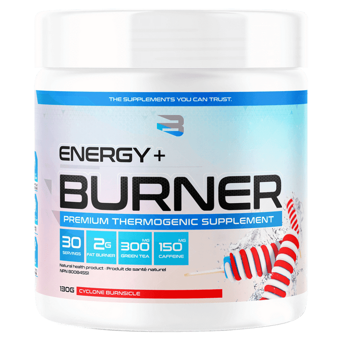 Believe Supplements Energy + Burner Fat Burner Supplements 30 Servings / Cyclone Burnsicle at Supplement Superstore Canada 628055911975
