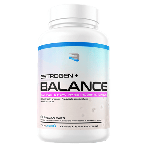Believe Supplements Estrogen + Balance Test Booster 60 Capsules at Supplement Superstore Canada 628055911012