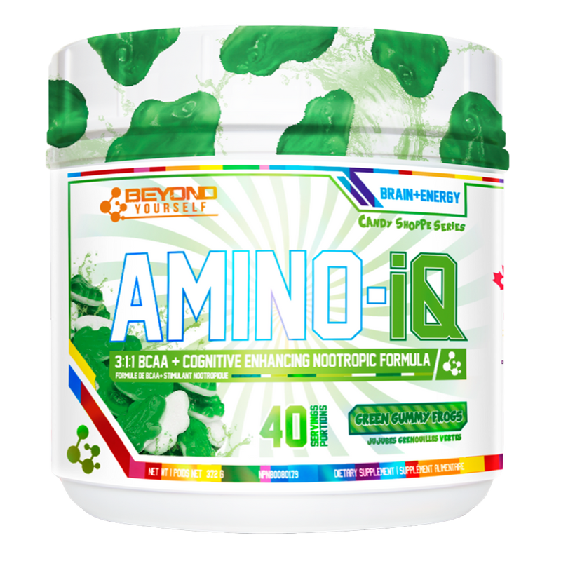 Beyond Yourself Amino IQ BCAA + Energy 40 Servings / Tangy Peach Ringz at Supplement Superstore Canada