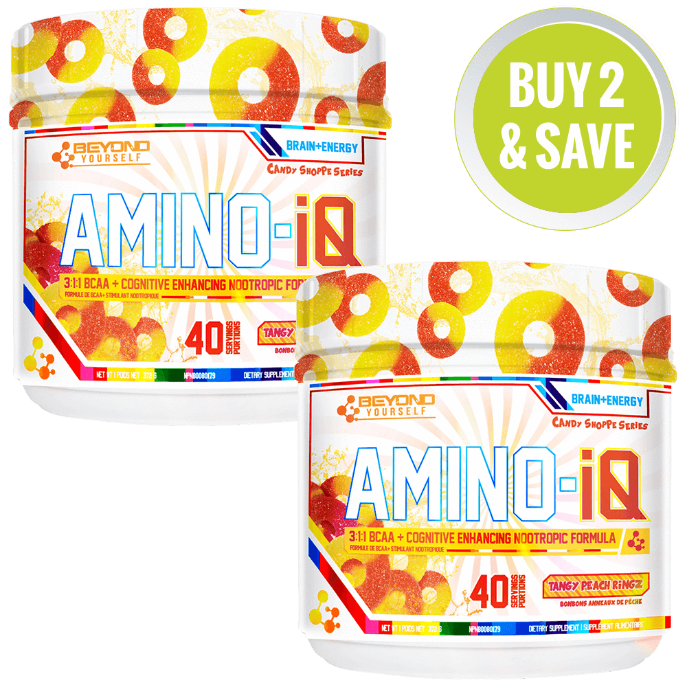Beyond Yourself Amino IQ 40 Servings [x2] BCAA + Energy Watermelon Candy / Watermelon Candy at Supplement Superstore Canada