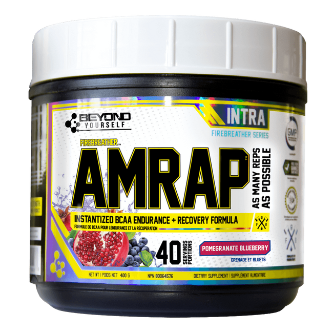 Beyond Yourself AMRAP BCAA 40 Servings / Pomegranate Blueberry at Supplement Superstore Canada