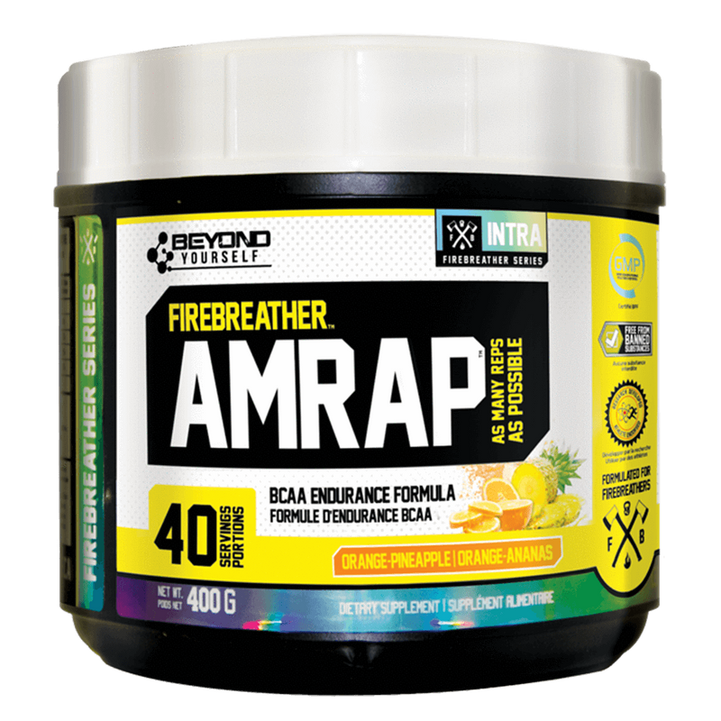 Beyond Yourself AMRAP 40 Servings [x2] BCAA Blue Freeze / Blue Freeze at Supplement Superstore Canada