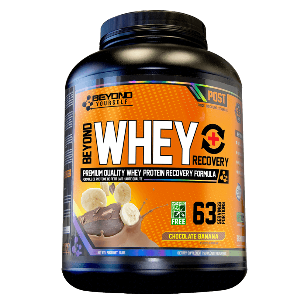 Chocolate Banana Beyond Whey Recovery by Go Beyond Yourself Whey Protein at Supplement Superstore Canada