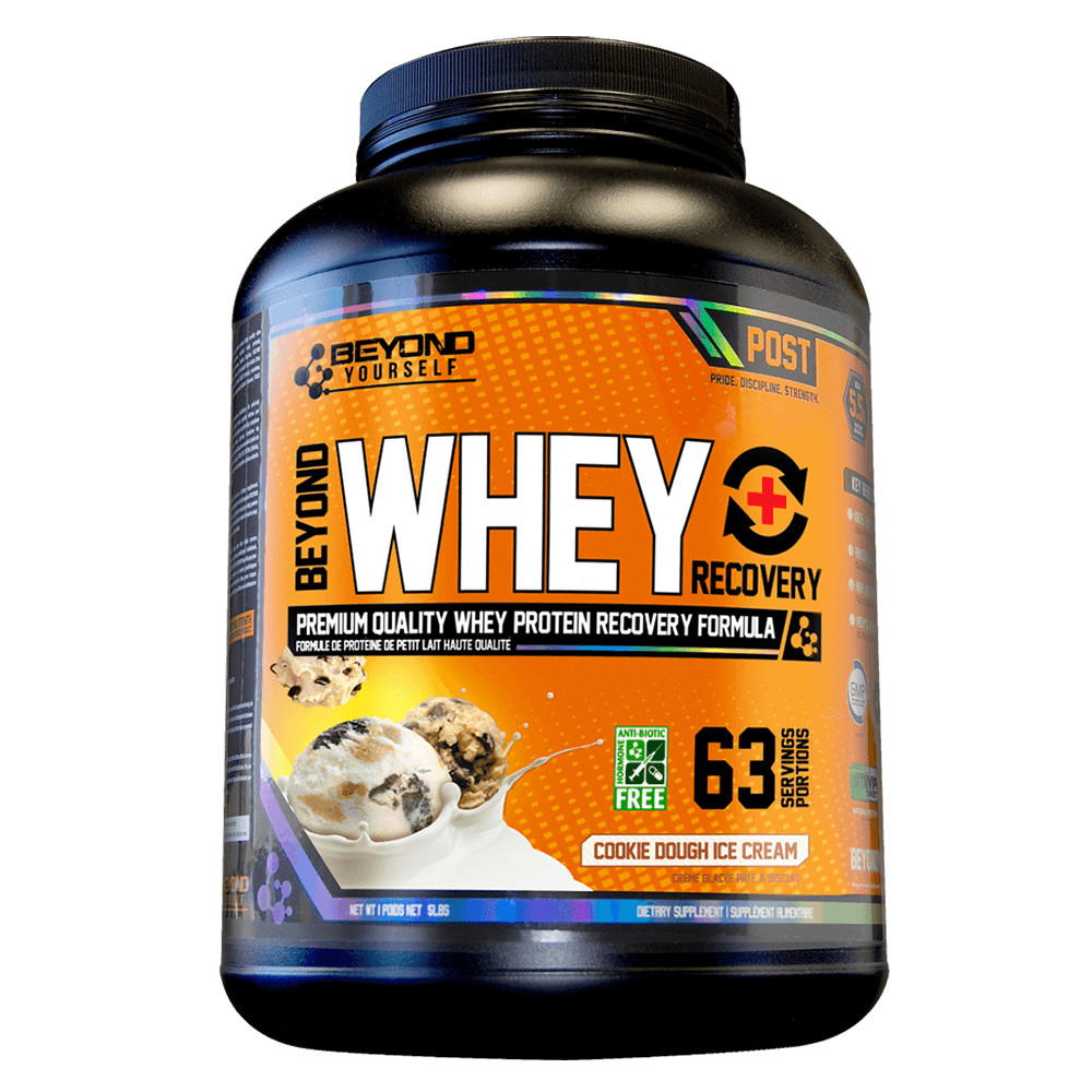 Cookie Dough Ice Cream Beyond Whey Recovery by Go Beyond Yourself Whey Protein at Supplement Superstore Canada