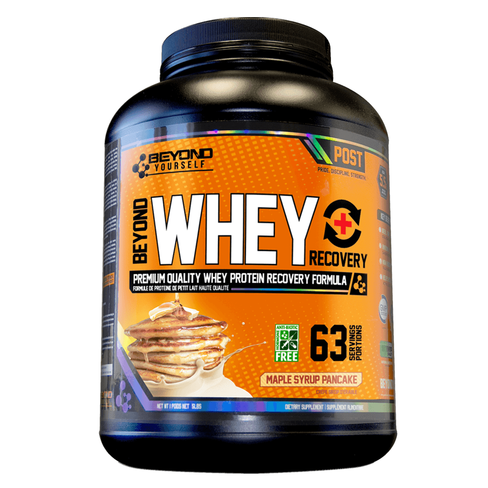 Maple Syrup Pancake Beyond Whey Recovery by Go Beyond Yourself Whey Protein at Supplement Superstore Canada