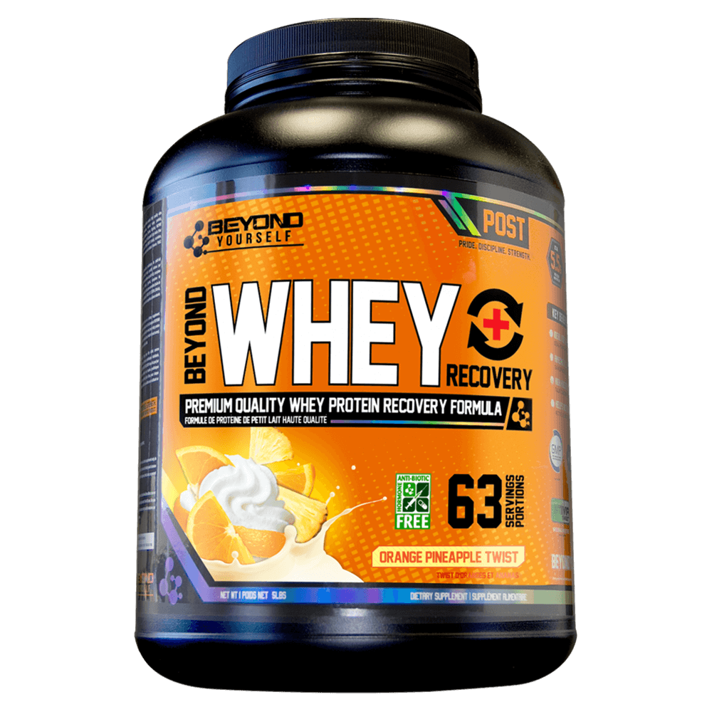 Orange Pineapple Twist Beyond Whey Recovery by Go Beyond Yourself Whey Protein at Supplement Superstore Canada