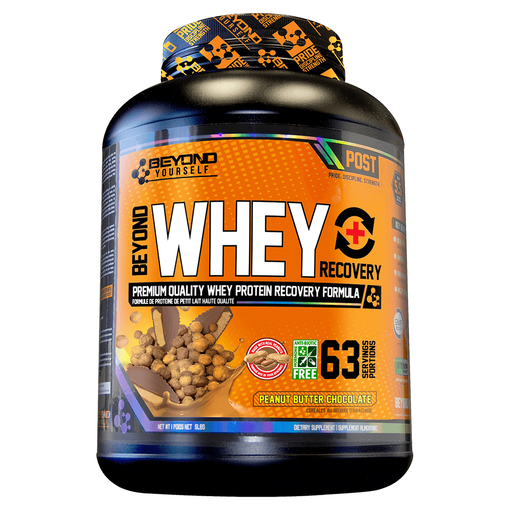 Peanut Butter Chocolate Beyond Whey Recovery by Go Beyond Yourself Whey Protein at Supplement Superstore Canada