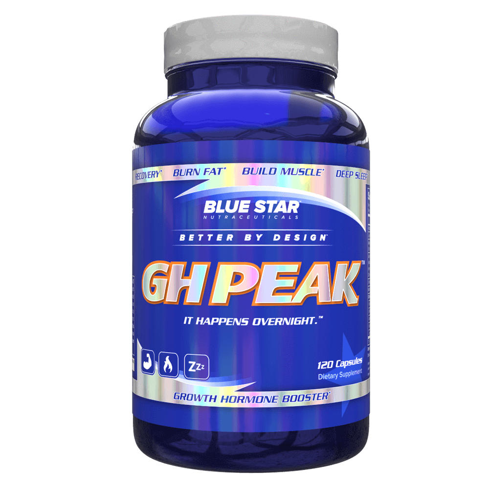Blue Star Nutraceuticals GH Peak Night Time Hormone Support 120 Capsules at Supplement Superstore Canada