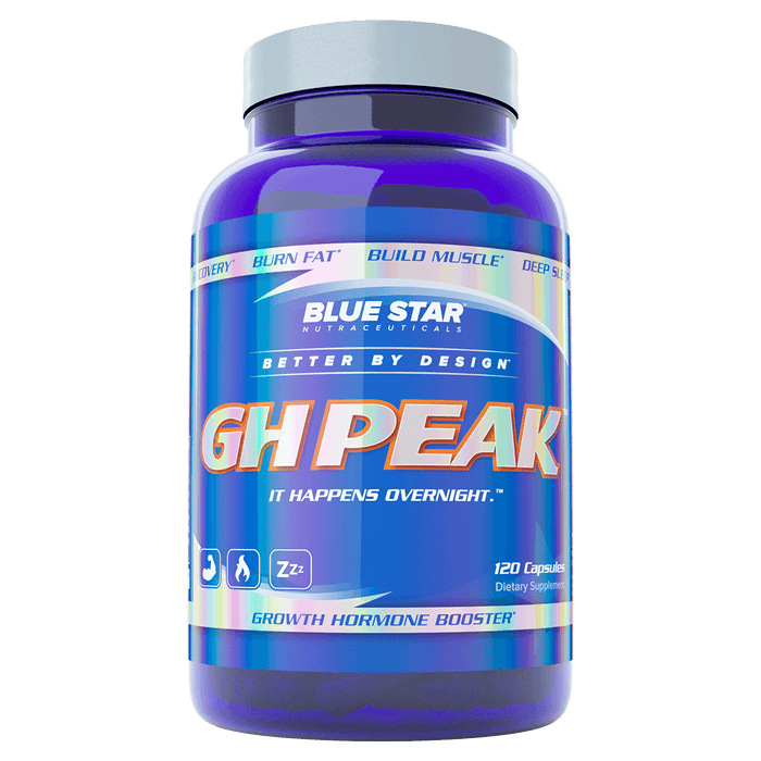 Blue Star Nutraceuticals GH Peak Sleep Aid 120 Capsules at Supplement Superstore Canada 61442000690