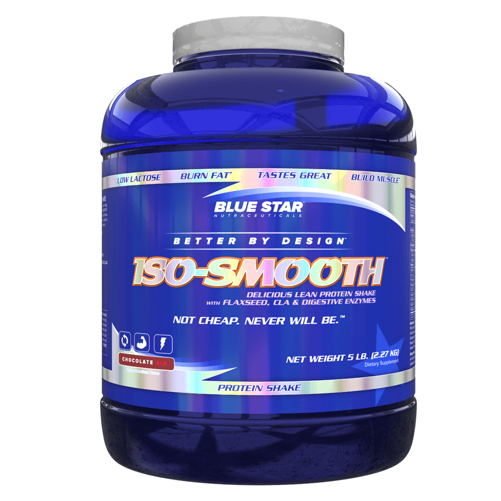 Blue Star Nutraceuticals Iso-Smooth Whey Protein Isolate 5lb / Chocolate Sin at Supplement Superstore Canada
