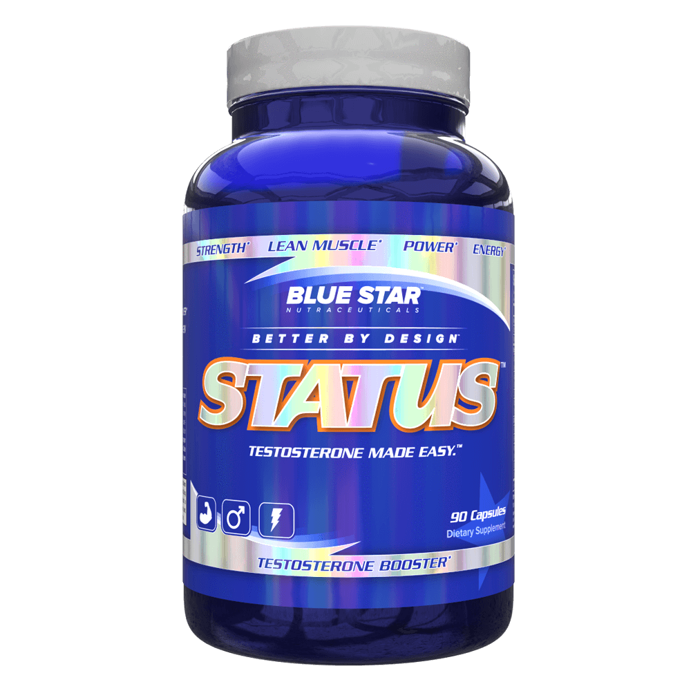 Blue Star Nutraceuticals Status Test Booster 90 Capsules at Supplement Superstore Canada