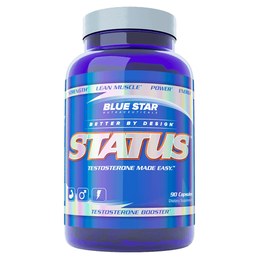 Blue Star Nutraceuticals Status Test Booster 90 Capsules at Supplement Superstore Canada 061442000065