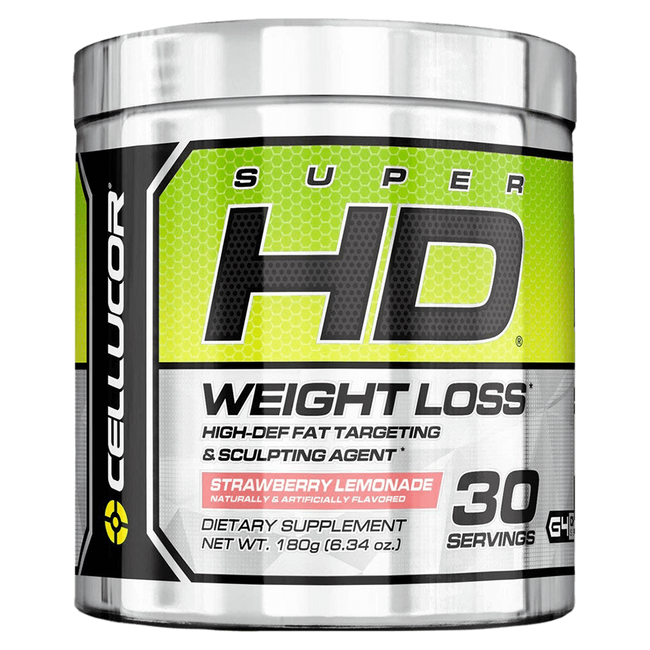 Strawberry Lemonade Super HD Powder by Cellucor Weight Loss Support Fat Burner at Supplement Superstore Canada