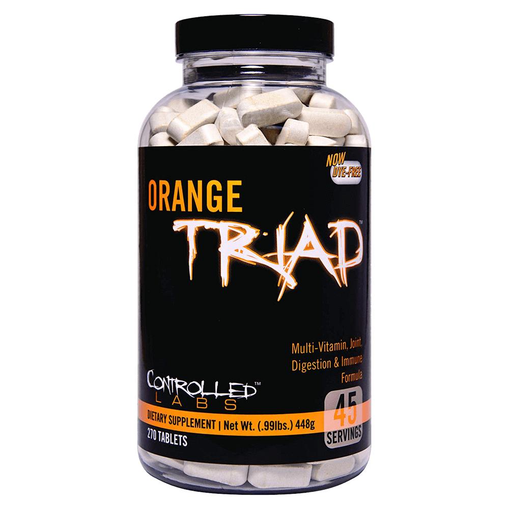 Controlled Labs Orange Triad Multi-Vitamin 270 Tablets at Supplement Superstore Canada