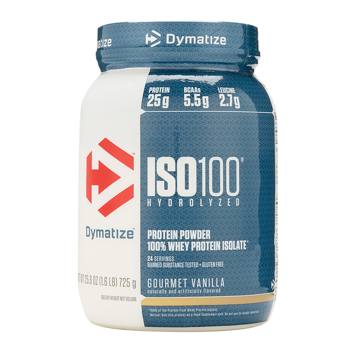 Dymatize Iso-100 Whey Protein Isolate 1.6lb / Gourmet Vanilla at Supplement Superstore Canada