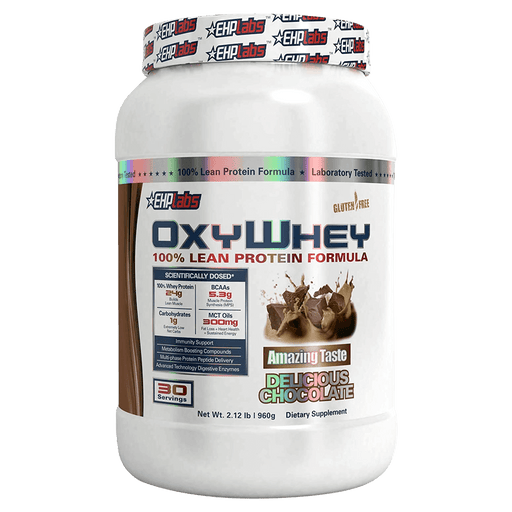 EHP Labs OxyWhey Protein Powder 30 Servings / Delicious Chocolate at Supplement Superstore Canada