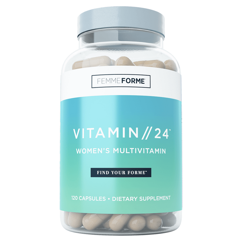 Femme Forme Vitamin//24 Multi-Vitamin 120 Capsules at Supplement Superstore Canada