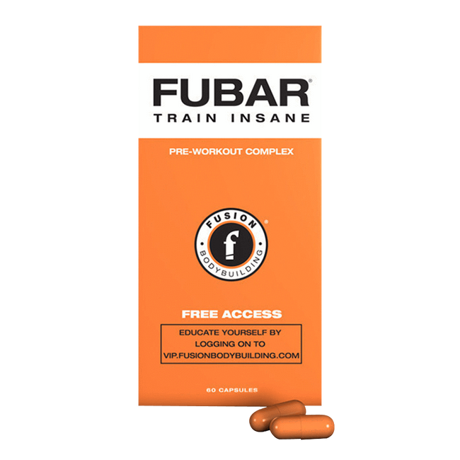 Fubar by Fusion Bodybuilding Muscle Pre Workout Energy Stimulant at Supplement Superstore Canada