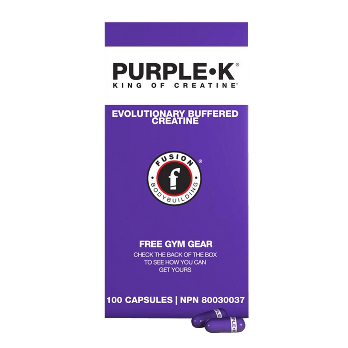 Fusion Bodybuilding Purple K Creatine 100 Capsules at Supplement Superstore Canada