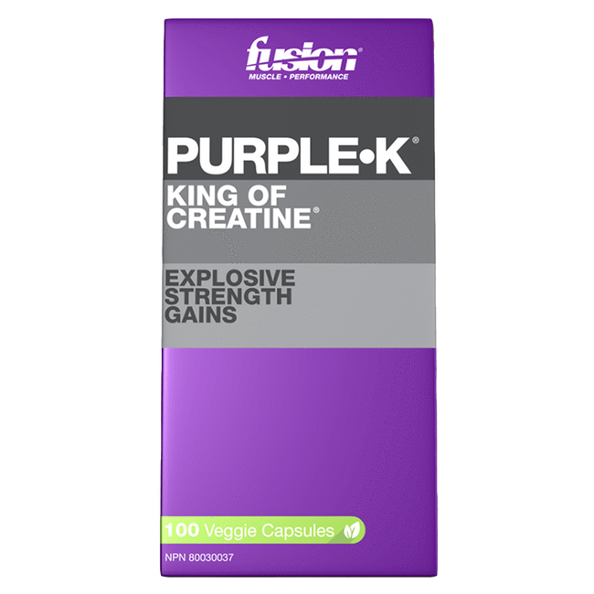 Purple K by Fusion Bodybuilding Muscle Kre Alkalyn PH Buffered Creatine at Supplement Superstore Canada