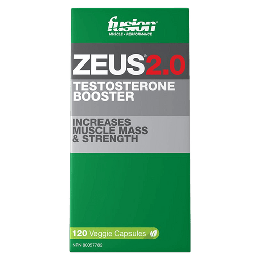 Fusion Bodybuilding Zeus 2.0 Test Booster 120 Capsules at Supplement Superstore Canada