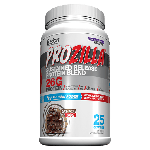Fusion Prozilla Protein Powder 25 Servings / Chocolate Trance at Supplement Superstore Canada 836722005456