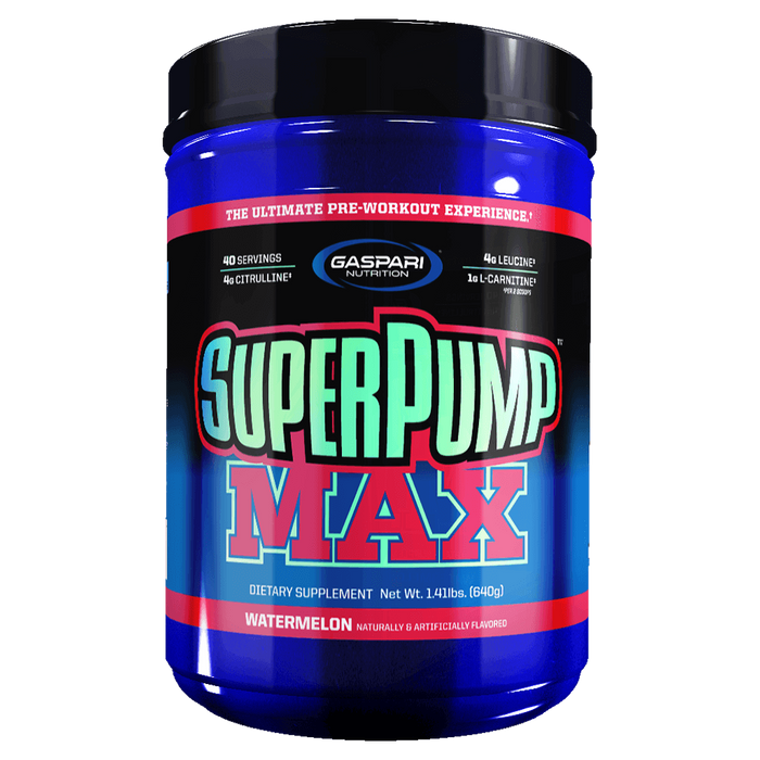 Gaspari Nutrition SuperPump Max Pre Workout at Supplement Superstore Canada