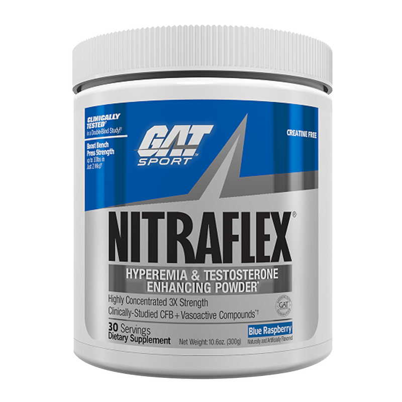 GAT Nitraflex Pre-Workout 30 Servings / Fruit Punch at Supplement Superstore Canada