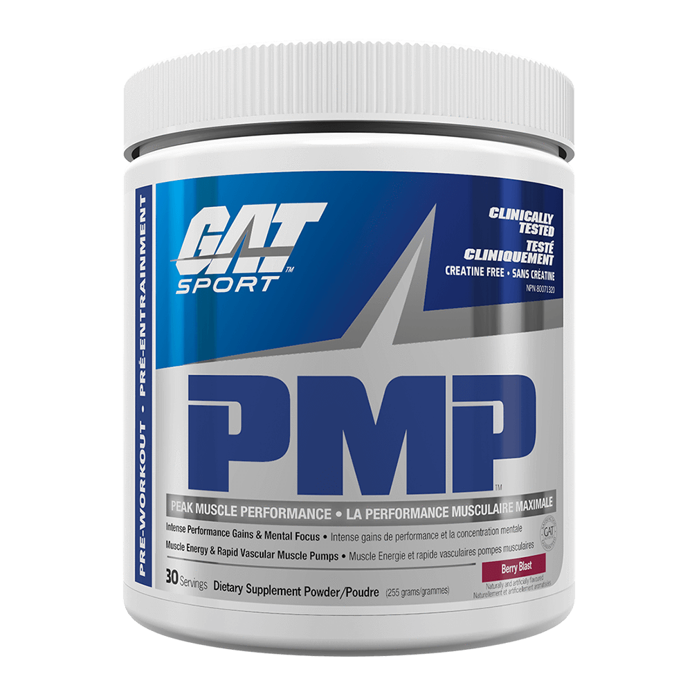 GAT PMP Pre-Workout 30 Servings / Berry Blast at Supplement Superstore Canada