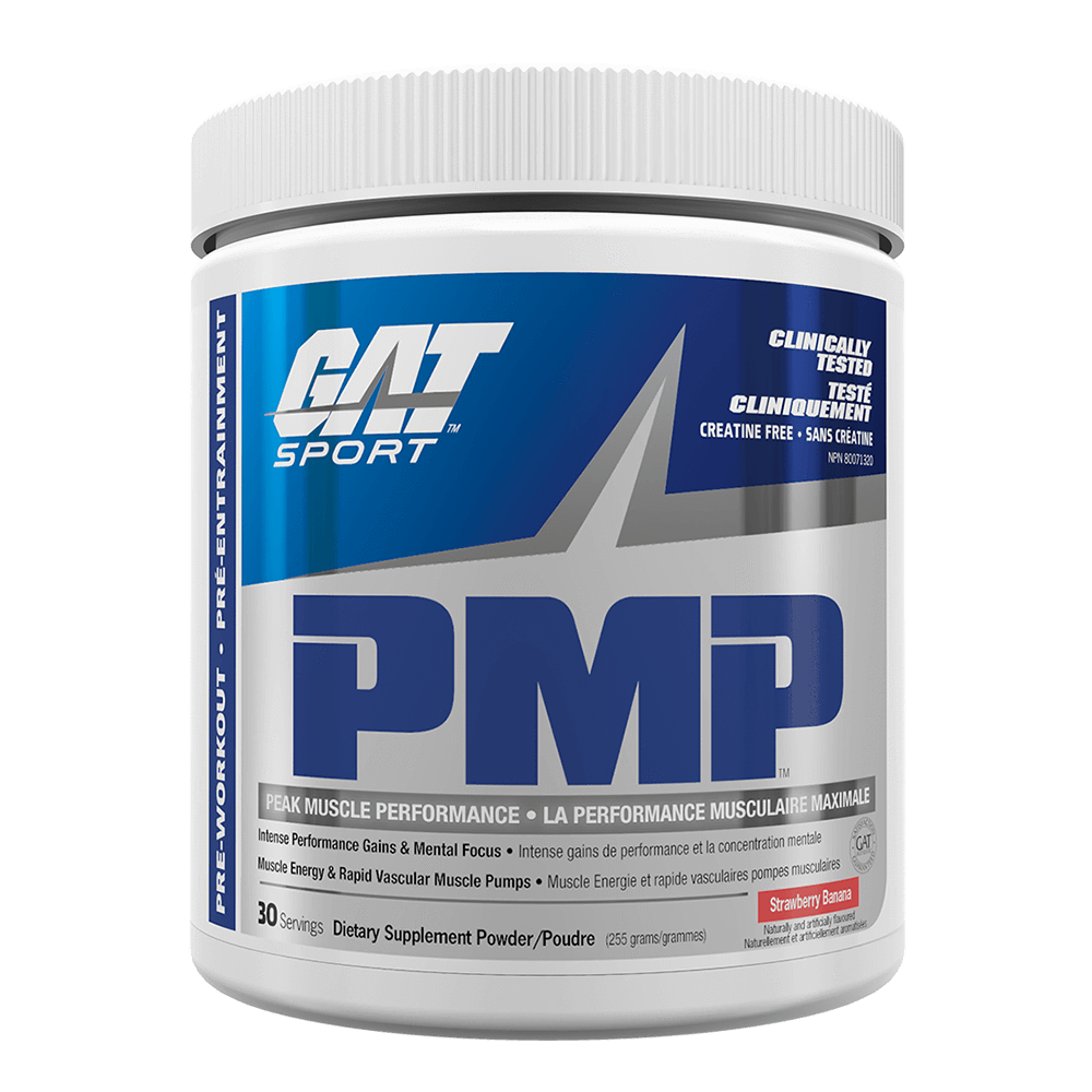 GAT PMP Pre-Workout 30 Servings / Strawberry Banana at Supplement Superstore Canada
