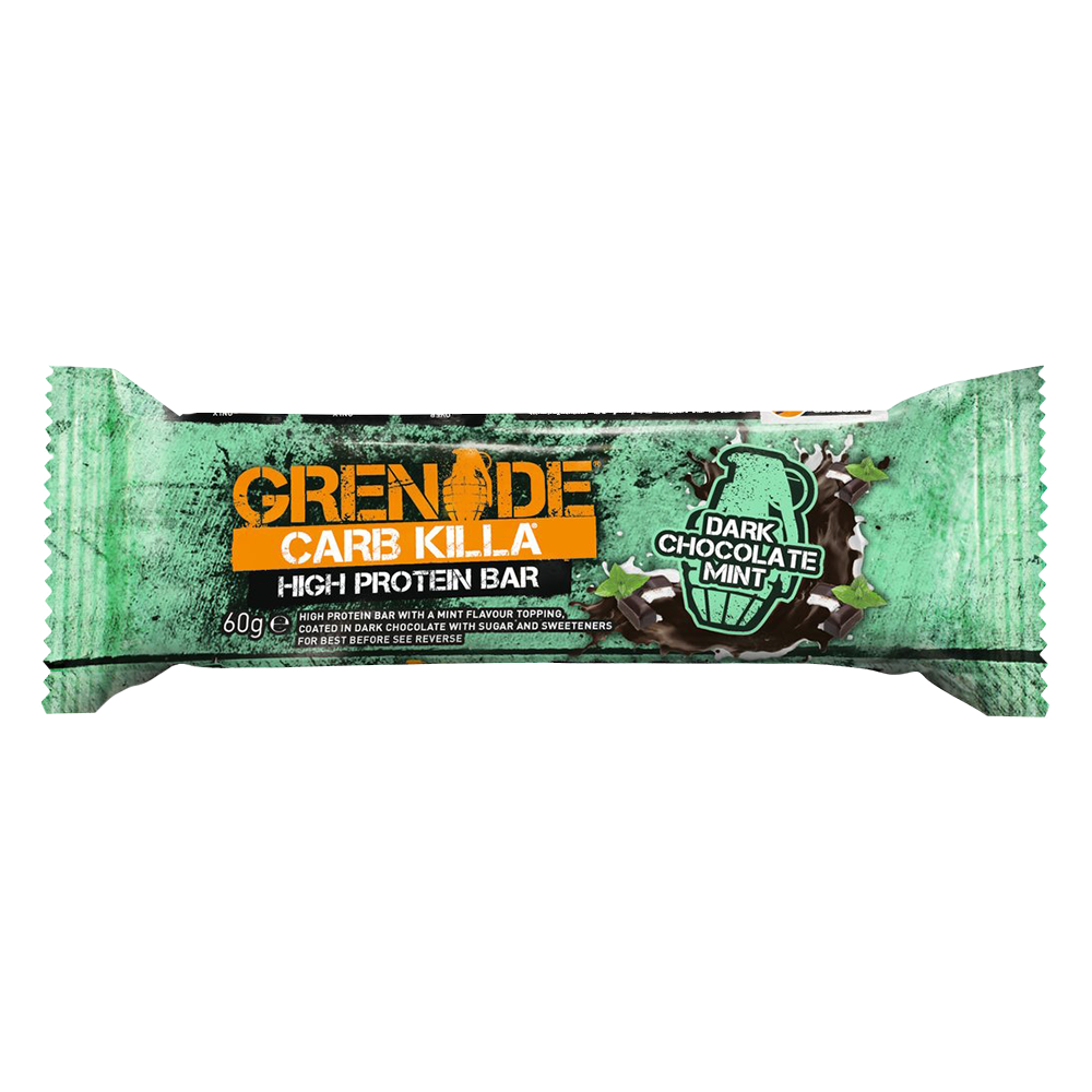 Grenade Carb Killa High Protein Bar Protein Bar 1 Bar / Dark Chocolate Mint at Supplement Superstore Canada
