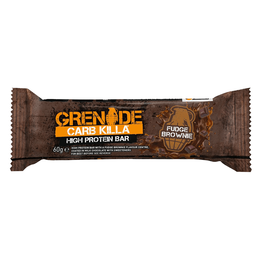 Grenade Carb Killa High Protein Bar Protein Bar 1 Bar / Fudge Brownie at Supplement Superstore Canada