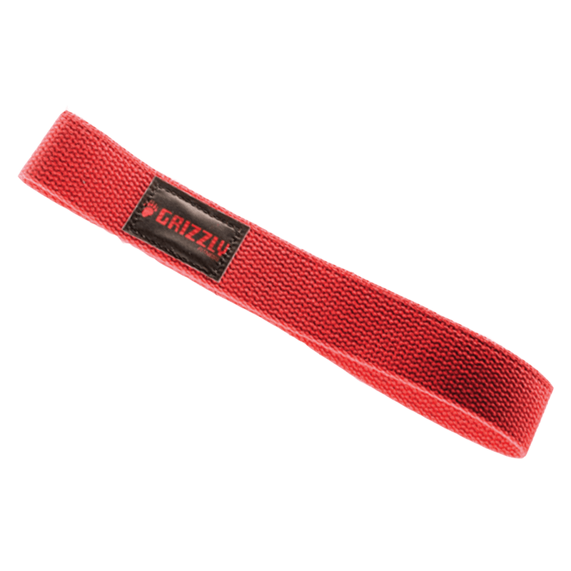 Grizzly Fitness Cotton Lifting Straps Straps Black at Supplement Superstore Canada