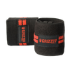 Grizzly Fitness Red Line Wrist Wraps Straps Black at Supplement Superstore Canada